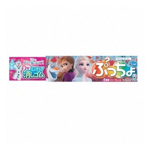 UHA味覚糖 ぷっちょワールドアナと雪の女王ミニチュア消しゴム 10粒 12コ入り 2019/11/11発売 (4902750907454)