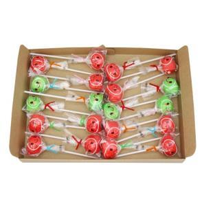 (全国送料無料)山中製菓 りんごあめ 1本 20コ入り メール便 (4903152200969m)|okashinomarch