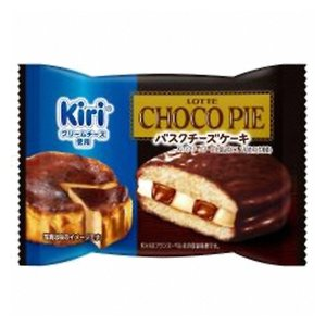 ロッテ チョコパイ <バスクチーズケーキ>個売り 1個 6コ入り 2020/09/15発売 (4903333221721)|okashinomarch