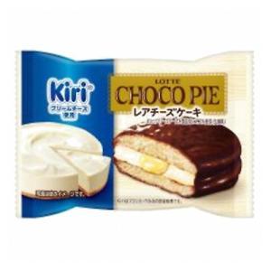 ロッテ チョコパイ <レアチーズケーキ>個売り 1個 6コ入り 2020/09/15発売 (4903333276684)|okashinomarch