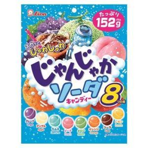 ライオン菓子 じゃんじゃかソーダ 152g 6コ入り|okashinomarch