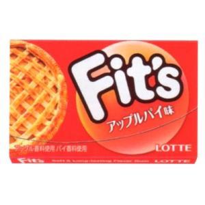 ロッテ Fits アップルパイ 12枚 10コ入り 2017/02/14発売