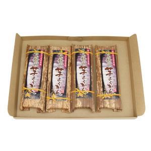 (全国送料無料)森田製菓 石見銀山芋羊かん 200g 4コ入り メール便|okashinomarch
