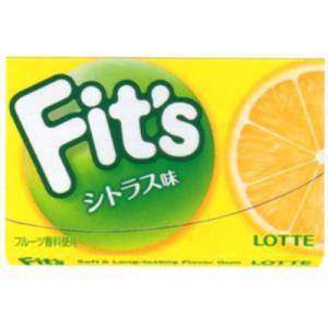 ロッテ Fits シトラス 12枚 10コ入り 2017/02/14発売