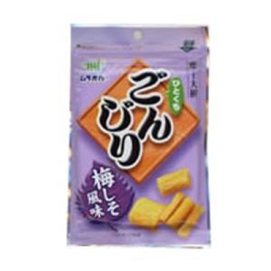 村岡食品 ひとくちごんじり 梅しそ風味 35g 10コ入り|okashinomarch