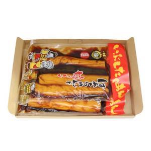 (全国送料無料) 森田製菓 いぶしたくあん 400g 2コ入り メール便 (4984839009945x2m)|okashinomarch