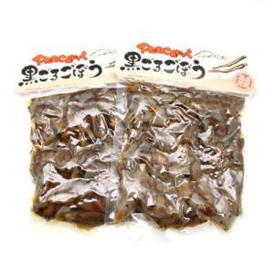(全国送料無料) 森田製菓 下田こんにゃく 黒ごまごぼう 300g 2コ メール便 (4990855044648x2m)|okashinomarch