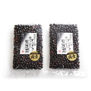 (全国送料無料) 森田製菓 食べる黒豆茶 200g 2コ入り メール便 (4990855060617x2m) okashinomarch
