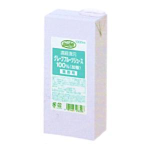 UCC業務用 グリーンフィールド 濃縮還元 グレープフルーツジュース 100%(加糖) AB1000ml×6個 (コード:520536000)|okashinomarch