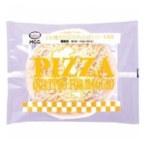 ピエモンテ地方の定番ピッツァをパルメザン、モッツァレラ、ゴルゴンゾーラ、ゴーダの4種のチーズでMCC...