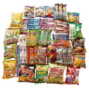 おかしのマーチ「小袋スナック・駄菓子もりもりセット(全58コ入り)」です。 人気の小袋スナックと駄菓...
