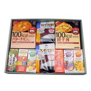おかしのマーチ 大塚食品 マイサイズ(4種)・マンナンヒカリ & カゴメジュース(6種) 健康志向ギフトセット(全12コ)|okashinomarch