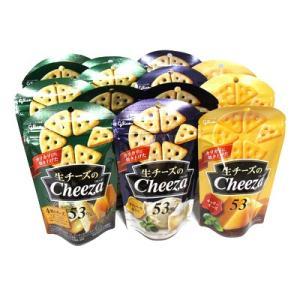 おかしのマーチ グリコ 生チーズのチーザ (3種類・計14個) セット F (omtma0930)