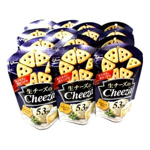 おかしのマーチ グリコ 生チーズのチーザ カマンベール 14コ セット J (omtma0940)