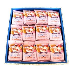 プレゼント ギフト グリコ ビスコ シンバイオティクス ブルーベリー&ラズベリー味 10枚×36個入 (ギフトセット C)|okashinomarch