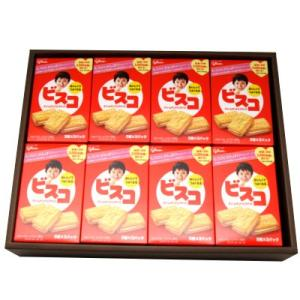 プレゼント ギフト グリコ ビスコ 15枚×16個入 (ギフトセット I)|okashinomarch