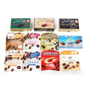 (地域限定送料無料) グリコ 機能性チョコ & 明治 チョコレート効果 セット(11種・計11コ)お...