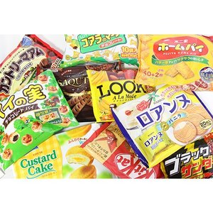 お菓子 詰め合わせ (地域限定送料無料) 大袋お菓子詰め合わせセット(10種・計10コ) (omtma6215k)|okashinomarch