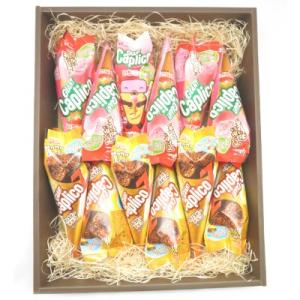プレゼント ギフト グリコ ジャイアントカプリコ いちご&クリスピーチョコ 各6個入 (ギフトセット)|okashinomarch