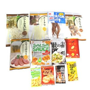 (全国送料無料)お酒のおともにぴったり!! おつまみセットB (12種類入り) メール便|okashinomarch