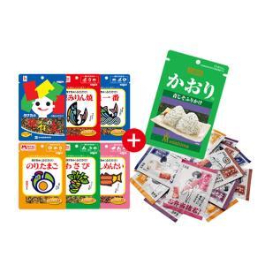 (全国送料無料)田中のふりかけ選べる1袋 & かおり & バラエティミニパック(20袋)セットB メール便 おかしのマーチ (omtmb0602) okashinomarch
