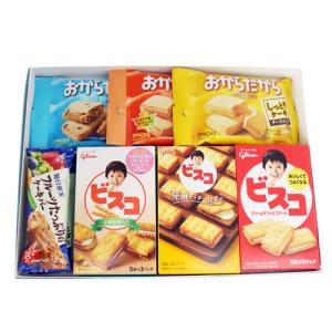 (全国送料無料) おかしのマーチ グリコお菓子ギフトセット C からだにやさしいプチギフト(7種・計8コ) メール便|okashinomarch