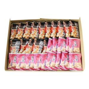 お菓子 詰め合わせ (全国送料無料) おかしのマーチ 感謝せんべい & 黒胡椒あられ(各15コ・計30コ)セット メール便 (omtmb0711)|okashinomarch