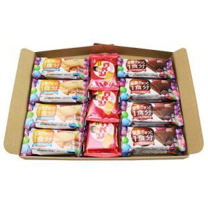 (全国送料無料) グリコ バランスオンminiケーキ(2種・各8コ)& ビスコ2枚入り(6コ)セット メール便|okashinomarch