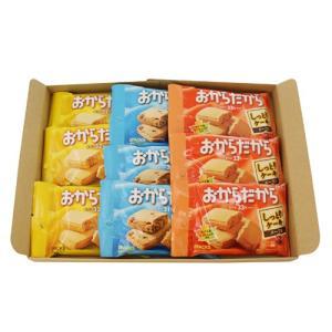 (全国送料無料)おかしのマーチ グリコ 栄養機能お菓子セット おからだから(3種・全9コ)セット F メール便|okashinomarch