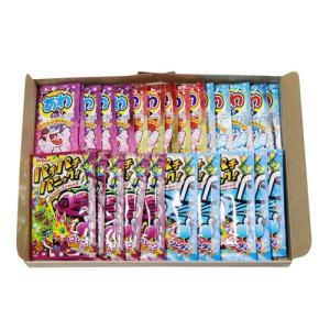 (全国送料無料) おかしのマーチ あわラムネ3種(各5コ・計15コ)& パチパチパニック2種(各5コ・計10コ)セット メール便 okashinomarch