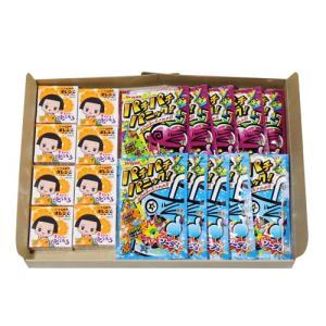 (全国送料無料) チコちゃん オレンジガム(8コ)& パチパチパニック2種(各5コ・計10コ)セット メール便 okashinomarch