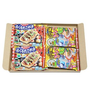 (全国送料無料) 豊かな創造力を育む知育お菓子Dセット(2種・計4コ) クラシエフーズ コリス メール便 okashinomarch