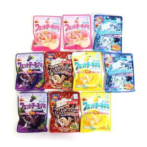 お菓子 詰め合わせ (全国送料無料) ブルボン フェットチーネグミ セット(5種・計10コ) おかしのマーチ メール便 (omtmb6102)|okashinomarch