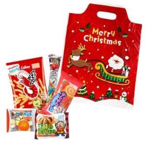 お菓子 駄菓子 詰め合わせ 子供向け 200 クリスマスの袋入り|okasi