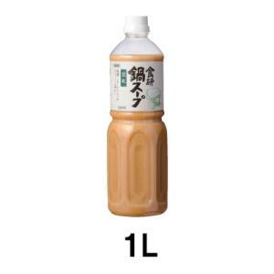 日本食研 食研鍋スープ 豆乳鍋 1L