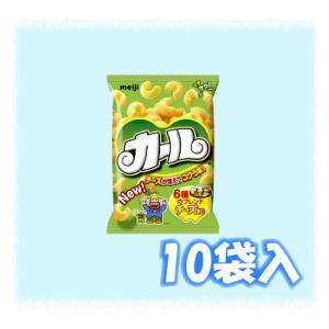 明治 カール チーズあじ64g(10袋入)