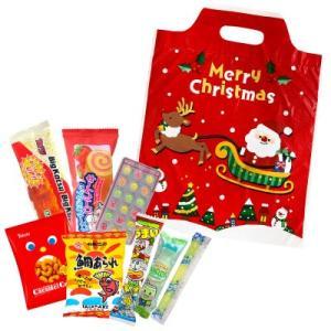 お菓子 駄菓子 詰め合わせ 子供向け 300 クリスマスの袋入り|okasi