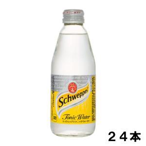 シュウェップス トニックウォーター 250ml 24本 (24本×1ケース) PET 炭酸飲料