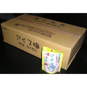 トノハタアイス梅40g×6入×6パック|okasirenjya