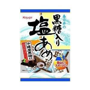 春日井製菓黒糖入り塩あめ90g×12袋入