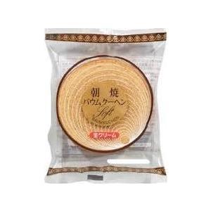 かし原朝焼きバウムクーヘン生クリーム1個×12袋入|okasirenjya