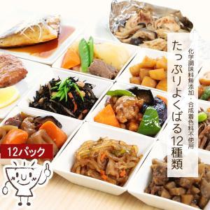 惣菜 冷凍 お惣菜 無添加 野菜惣菜 煮物 非常食 おかわりくんのおすすめセット 12種類 送料無料