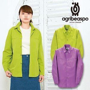 [AB19] ビアスポ/ワークシャツ レディース 綿ウェザー シャツジャケット|okayama-styleshop