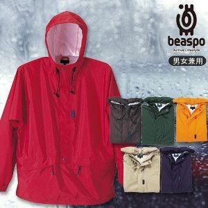 [BS101] ビアスポ/ベイシックレインアノラック(高性能透湿・防水、男女兼用)/レインウェア、合羽、雨カッパ、ヤッケ、マウンテンパーカー|okayama-styleshop