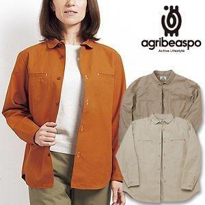 [AB9] ビアスポ/ワークシャツ レディース 綿コンパクトオックス アウトドアに|okayama-styleshop