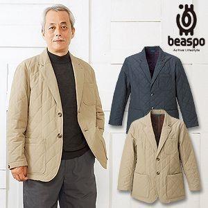 [BS290] ビアスポ/キルトジャケット(撥水、防風、一重仕立て)/ブリティッシュスタイル、シャツジャケット、メンズ|okayama-styleshop