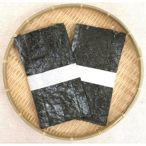 業務用 岡山県産 晴れの国から 岡山若のり 焼きのり 半切200枚(300g)|okayamagyoren