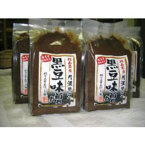 丹波黒豆味噌
