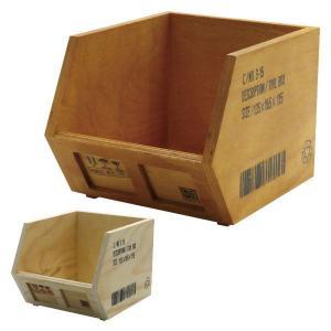 SHIPPING BOX ツール 木 ウッド 収納ボックス ...