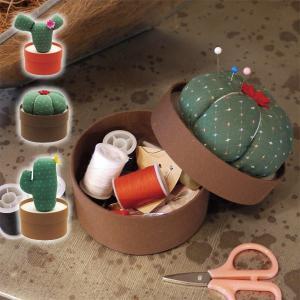 カクタスソーイングセット 裁縫道具 セット かわいい おもし...